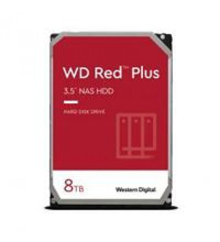 DD INTERNO WD RED PLUS 3.5 8TB SATA3 6GB/S 256MB 24X7 HOTPLUG P/NAS 1-8 BAHIAS