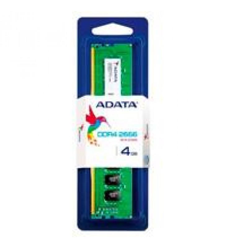 MEMORIA ADATA UDIMM DDR4 4GB PC4-21300 2666MHZ CL19 288PIN 1.2V PC