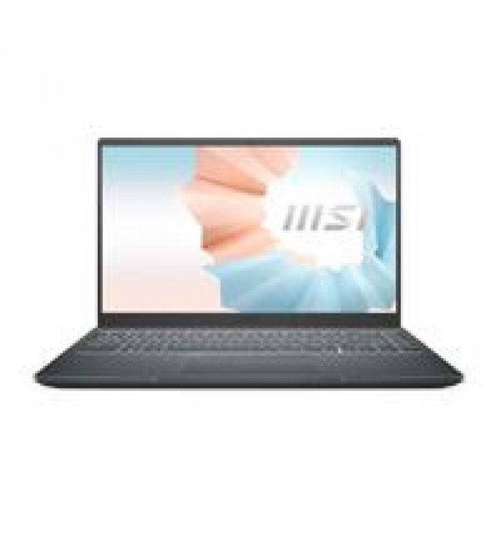 ULTRABOOK MSI MODERN 14 B11M /CORE I5 1135G7 2.4 - 4.2GHZ/8GB DDR4-3200MHZ/512 SSD-M.2/GRAFICOS INTE