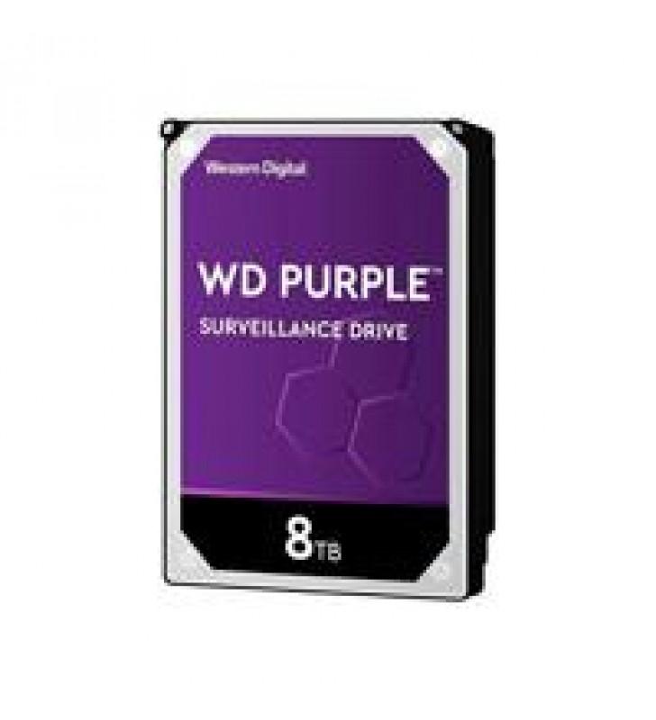 DD INTERNO WD PURPLE 3.5 8TB SATA3 6GB/S 128MB 5640RPM 24X7 PARA DVR Y NVR DE 1-16 BAHIAS Y 1-64 CAM