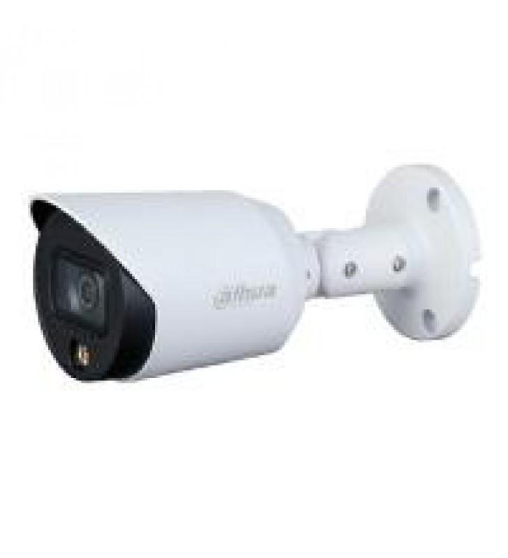 CAMARA DAHUA BULLET HDCVI FULL COLOR 1080P/ MICROFONO INTEGRADO/ METALICA/ LED DE 20 MTS/ 3.6 MM/ IP