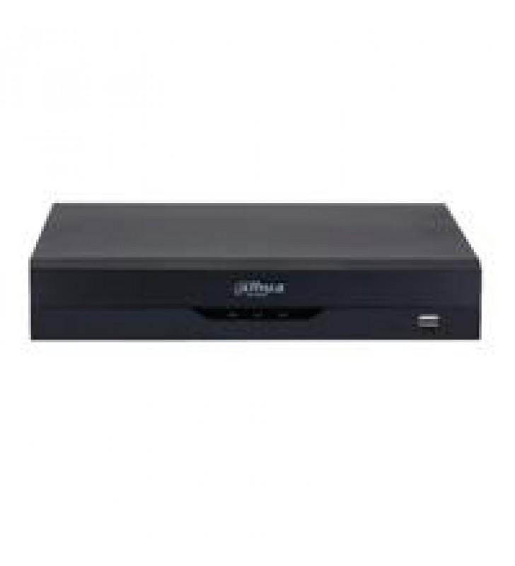 DVR DE 8 CANALES 4K/ WIZSENSE/ H.265+/ 8 CANALES HDCVI+ 8 IP/ HASTA 16 CH IP/ 2 CH DE RECONOCIMIENTO