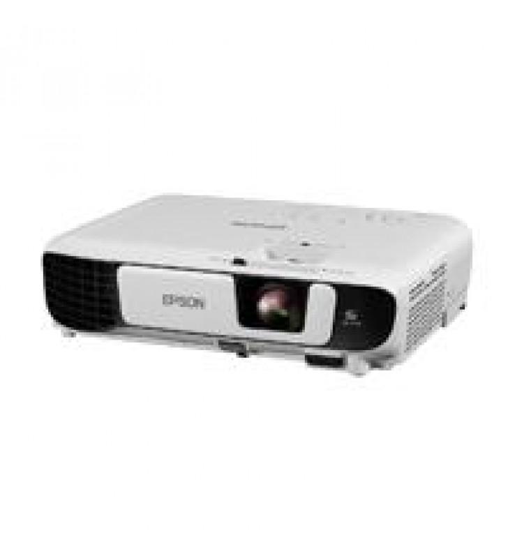 VIDEOPROYECTOR EPSON POWERLITE W52+ 3LCD WXGA 4000 LUMENES USB HDMI WIFI
