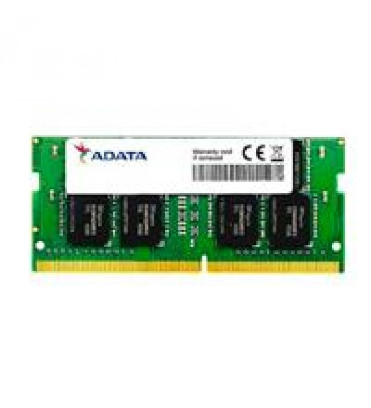 MEMORIA ADATA SODIMM DDR4 8GB PC4-21300 2666MHZ CL19 260PIN 1.2V LAPTOP/AIO/MINI PCS