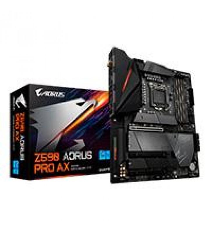MB GIGABYTE Z590 INTEL S-1200 11GEN/4XDDR4 2933MHZ/PCIE 4.0/DP/4XUSB 3.2/USB-C/M.2/WIFI/BLUETOTH/ATX