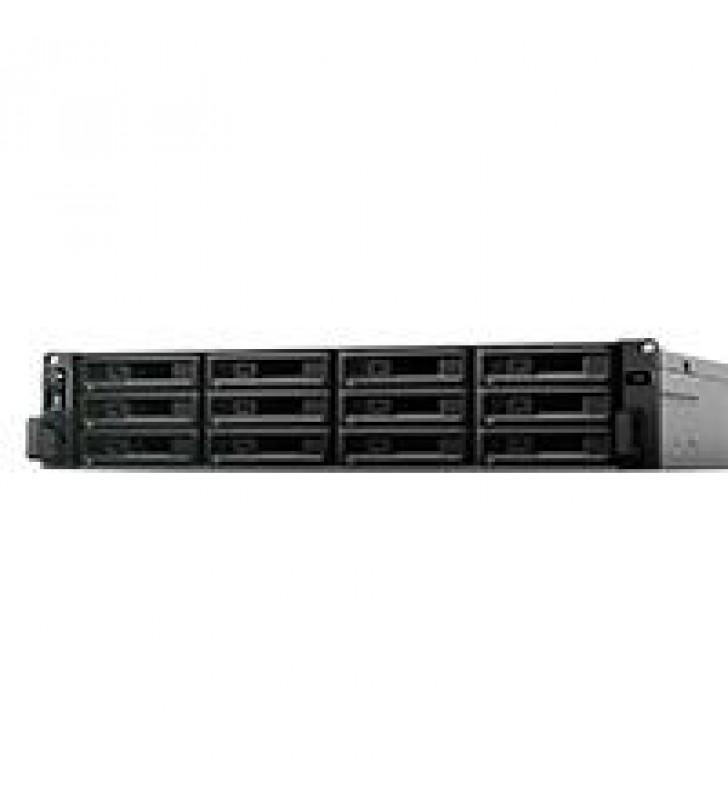 NAS SYNOLOGY SA3600 12 BAHIAS/12 NUCLEOS 2.1 BASE 2.7TURBO GHZ/16GB DDR4 ECC RDIMM/LANGIGABITX4 Y LA