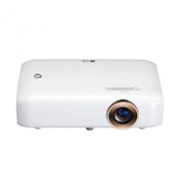 VIDEOPROYECTOR PORTATIL LED LG PH510P 550 ANSILUMENES HD 1280X720 HASTA 100 PULGADAS HDMI(1) VGA(1)