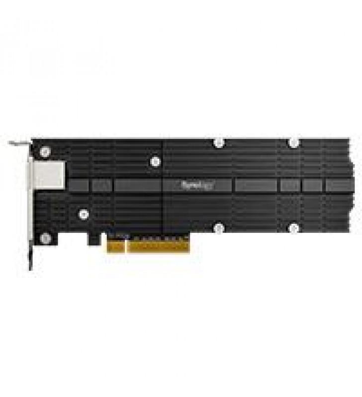 TARJETA  SYNOLOGY  PCIE 3.0 X8   1 PUERTO DE 10G BASE-T Y 2 RANURAS SSD NVME M.2 2280/22110 TODO EN