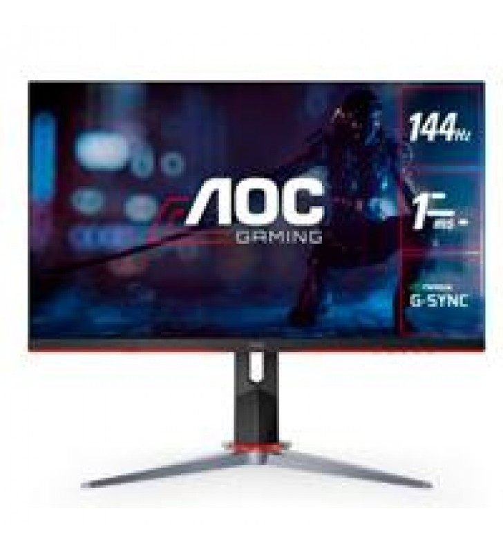 MONITOR LED GAMER AOC IPS 24/ ENTRADAS HDMI / VGA / DISPLAYPORT / ASPECTO 169 / TR 1 MS / AMD FREE S