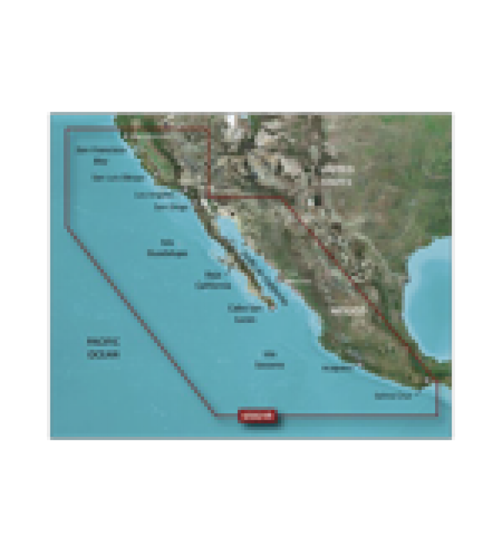 MAPA HXUS021R CALIFORNIA - MEXICO.