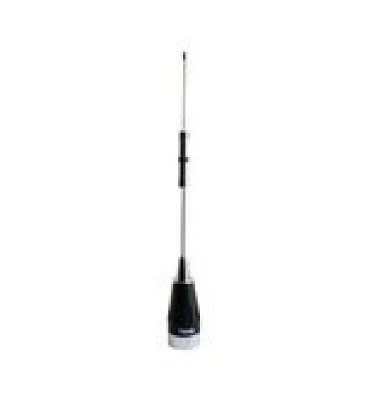 ANTENA MOVIL VHF, BANDA ANCHA, RANGO DE FRECUENCIA 136 - 174 MHZ.