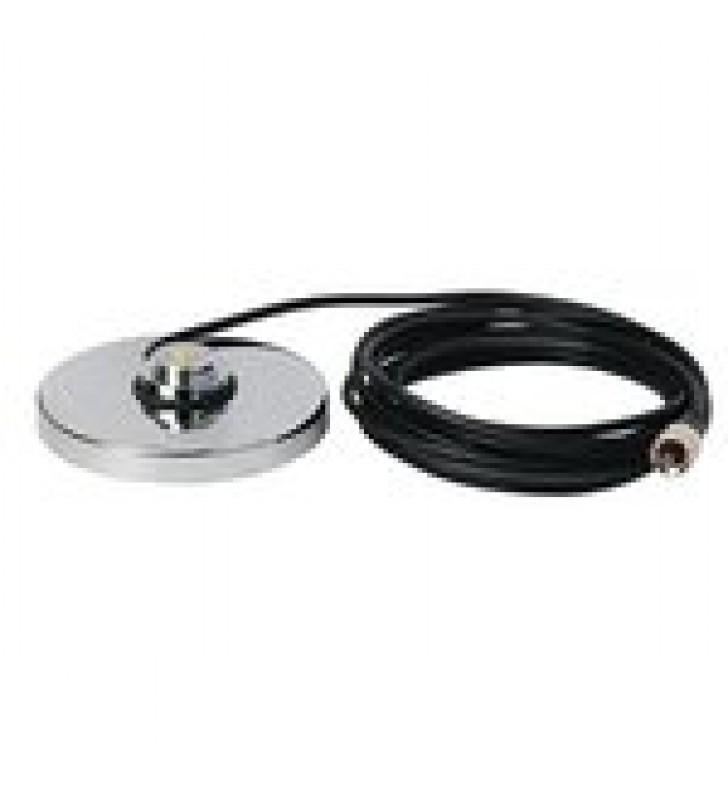 MONTAJE MAGNETICO PARA ANTENAS DE 3/4 (NMO), 5 M DE CABLE RG-58A/U, CONECTOR UHF (PL-259) MACHO, DIAMETRO DE 5