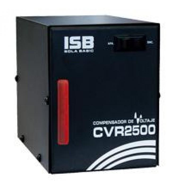 REGULADOR DE VOLTAJE PARA REFRIGERADORES LAVADORAS SOLA BASIC CVR-2500VA/1500W 1 CONTACTO