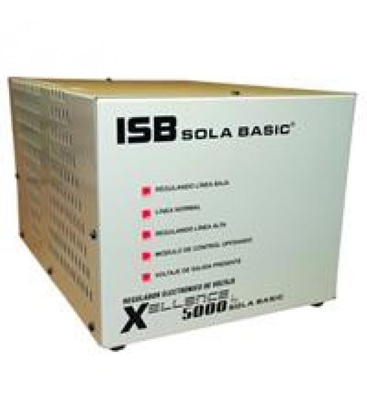 REGULADOR ELECTRONICO DE VOLTAJE SOLA BASIC ISB XELLENCE5000