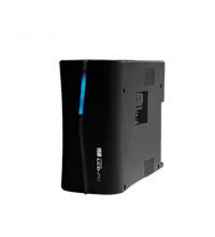 NO BREAK SOLA BASIC ISB PROTECTOR LCD450 450 VA / 8 CONTACTOS C/REGULADOR GABINETE PLASTICO NEGRO