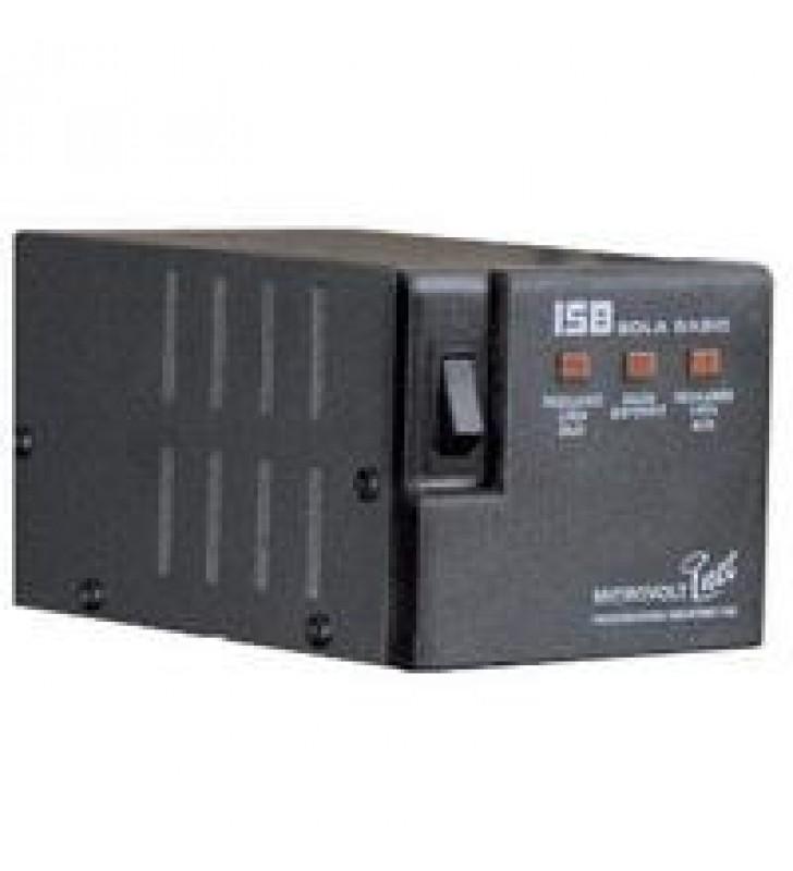 REGULADOR SOLA BASIC ISB MICROVOLT 1200VA / 1200 WATTS C/PROT/LINEA 4 CONT