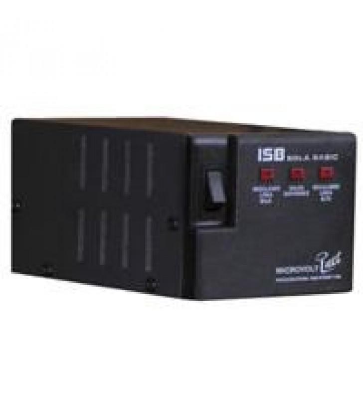 REGULADOR SOLA BASIC ISB MICROVOLT 2000VA / 1800 WATTS C/PROT/LINEA 4 CONT
