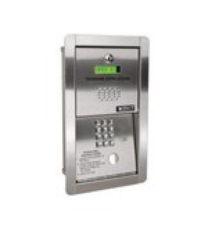 AUDIOPORTERO TELEFONICO / 600 NUMEROS TELEFONICOS / CONTROL PARA 2 PUERTAS / GABINETE PARA SOBREPONER/ MARCACION A 16 DIGITOS / LINEA ANALOGA O DIGITAL