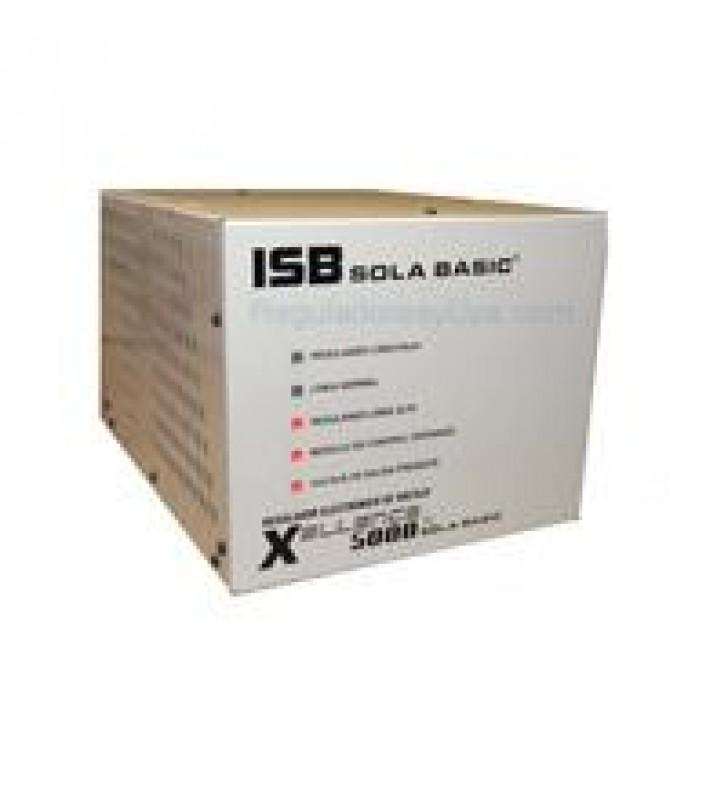 REGULADOR SOLA BASIC ISB CVH 4000 VA FERRORESONANTE 1 FASE 120 VCA +/- 3%