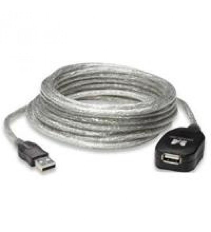 CABLE USB MANHATTAN V2.0 EXTENSION ACTIVA 4.9 M DE ALTA VELOCIDAD ENCADENABLE 15 MTS