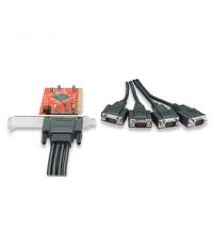 TARJETA SERIAL MANHATTAN PCI 4 PUERTOS DB9