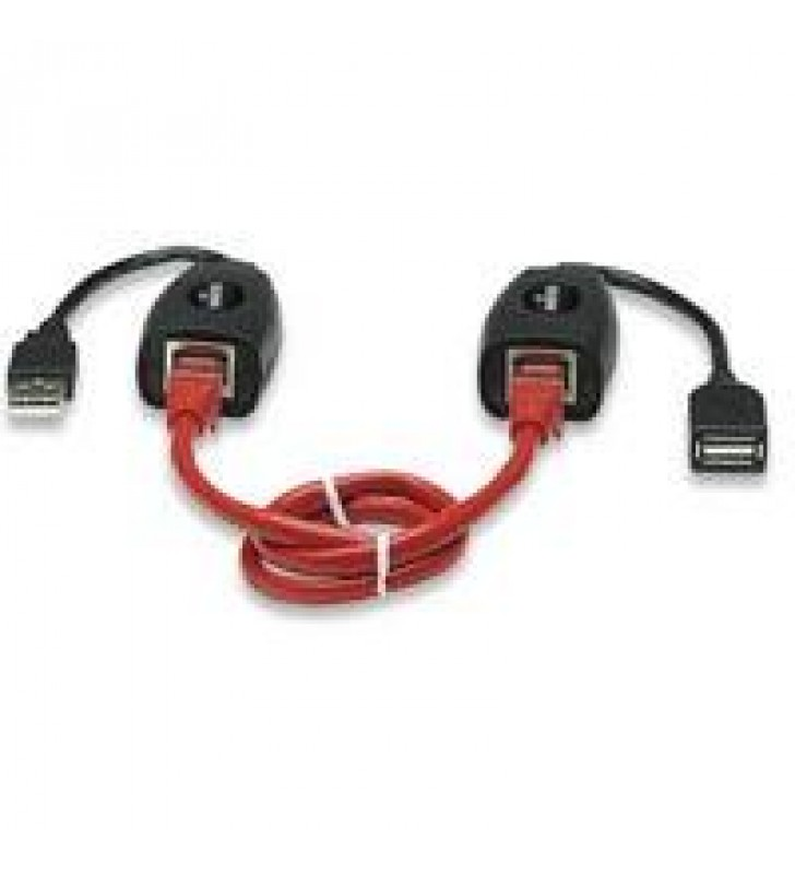 CABLE USB MANHATTAN EXTENSION ACTIVA 60 MTS VIA RJ45