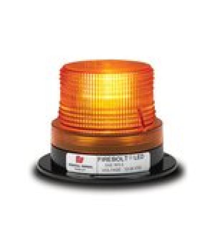 ESTROBO AMBAR FIREBOLT PLUS DE TECNOLOGIA LED, 12-72 VCD