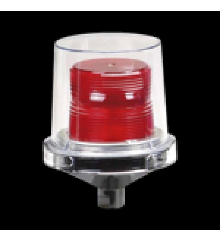 LUZ LED ELECTRARAY, PARA UBICACIONES PELIGROSAS, UL Y CUL , 120-240 VCA, ROJO, PARPADEO PREDETERMINADO