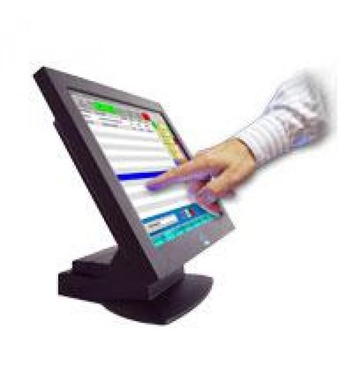 MONITOR TOUCH SCREEN USO RUDO LCD TFT EC LINE 15 PULGADAS EC-TS-1515 POS TECNOLOGIA ELO TOUCH