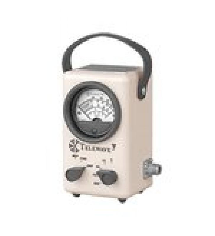 WATTMETRO PARA RADIOFRECUENCIA DE BANDA ANCHA, 20-1000 MHZ, EN ESCALAS DE 5, 15, 50, 150 Y 500 WATT.