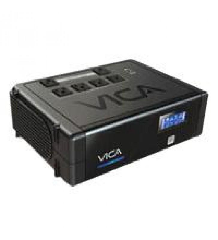 NO BREAK VICA REV 700VA/400W 6 CONTACTOS CON RESPALDO Y REGULADOR.