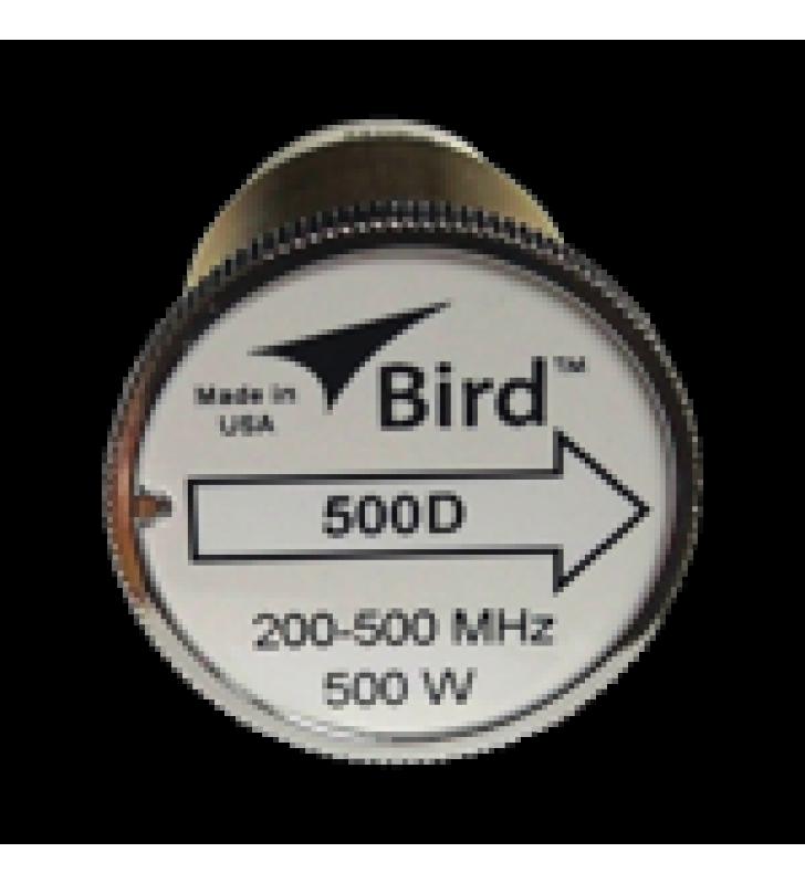 ELEMENTO DE 500 WATT EN LINEA 7/8 PARA WATTMETRO BIRD 43 EN RANGO DE FRECUENCIA DE 200-500 MHZ