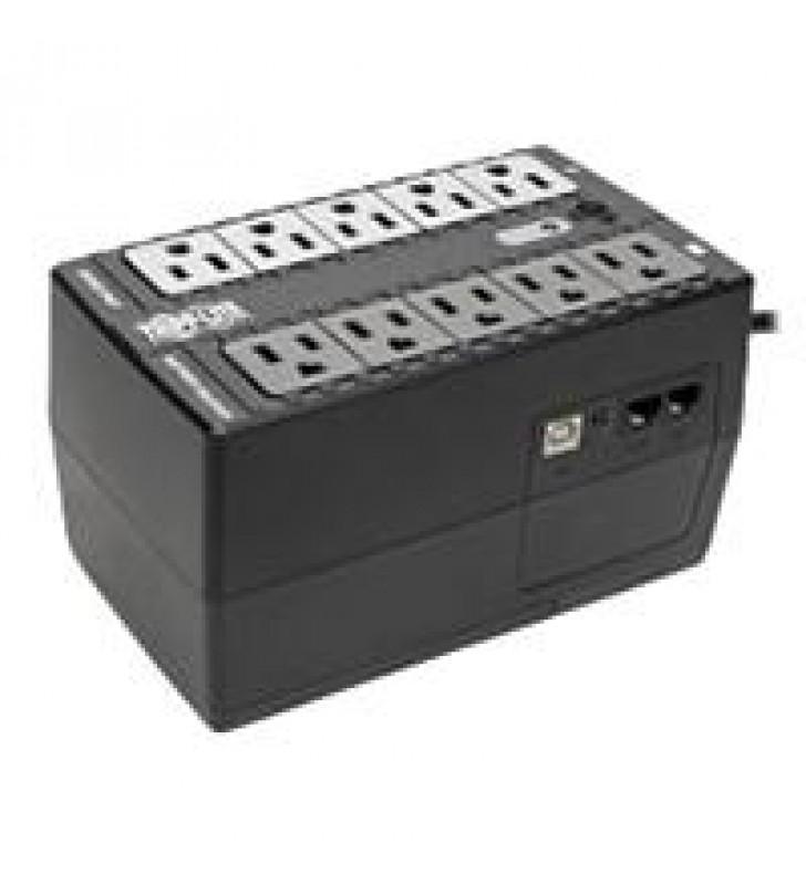 NOBREAK TRIPP-LITE INTERNET550U INTERACTIVO DE 120V 550VA 300W 10 CONT. CON PUERTO USB GARANTIA LIMI