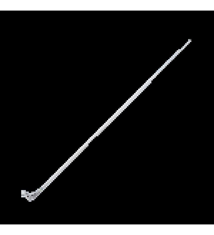 ANTENA MARINA VHF DE 6DB DE 2.4 M CON CABLE RG-58 Y CONECTOR PL-259