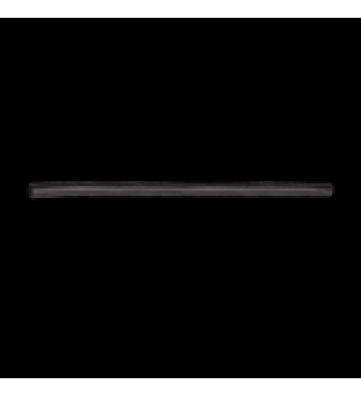 TUBO TERMOENCOGIBLE (TERMOFIT) NEGRO DE 1.2 M, 1 DE DIAMETRO, REDUCE DE 2:1, POLIOLEFINA.