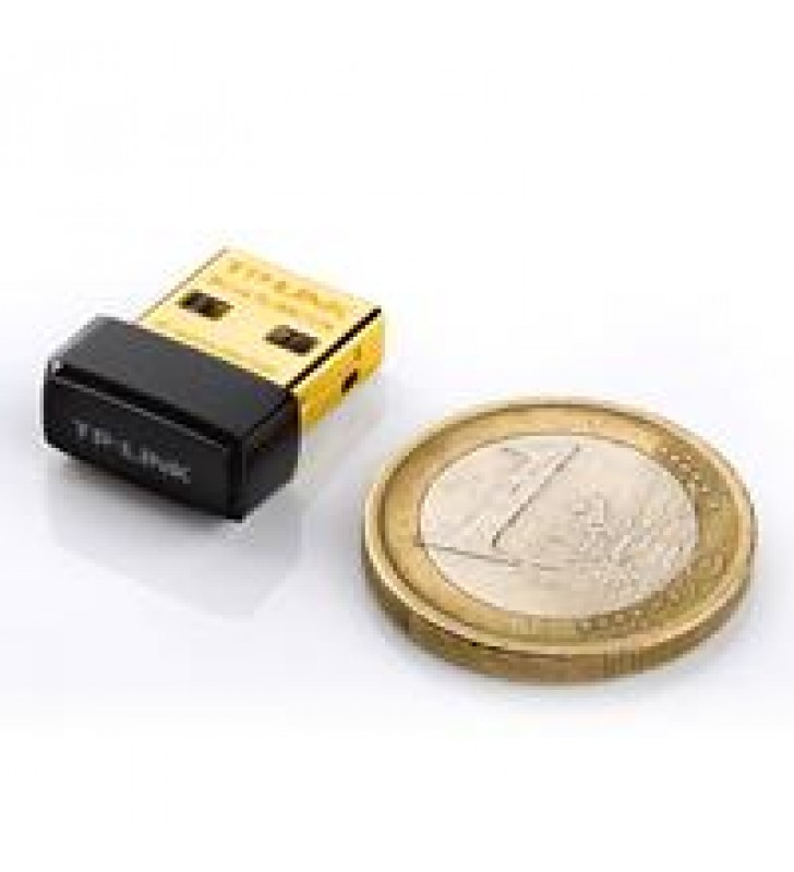TARJETA DE RED USB TP-LINK TL-WN725N INALAMBRICA 150 MBPS 802.11N/G/B TAMANO NANO