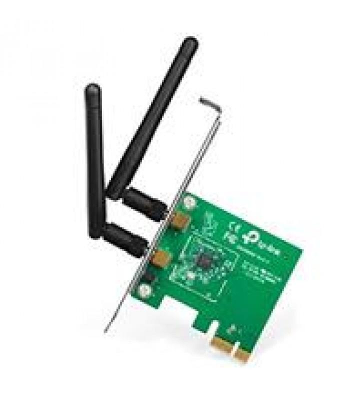 TARJETA DE RED PCI EXPRESS X1 INALAMBRICA TP-LINK TL-WN881ND WIRELESS 802.11N/G/B 300MBPS 2 ANTENAS