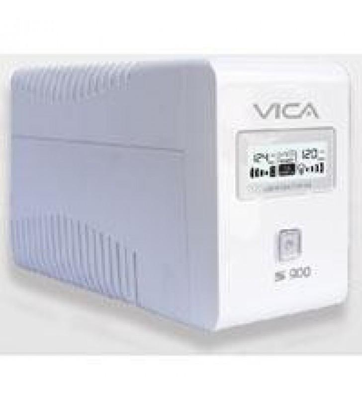 NOBREAK VICA 900VA/550W 6 TOMAS CON REGULADOR PANTALLA LCD Y SOFTWARE 3 ANOS GARANTIA