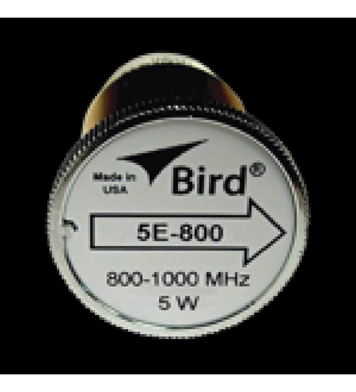 ELEMENTO DE 5 WATT EN LINEA 7/8 PARA WATTMETRO BIRD 43 EN RANGO DE FRECUENCIA DE 800 A 1000 MHZ.