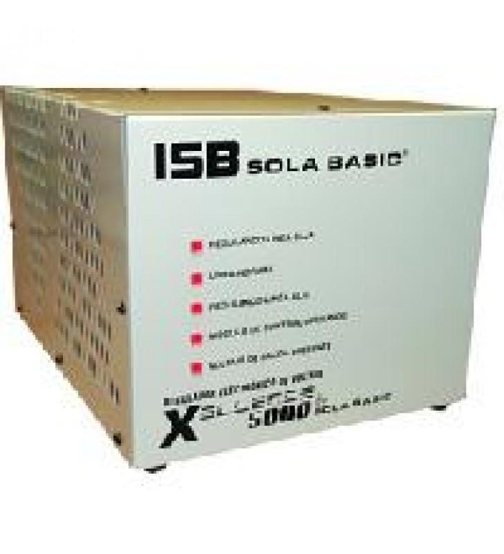 REGULADOR ELECTRONICO DE VOLTAJE SOLA BASIC ISB XELLENCE5000 2 FASES 220 VCA