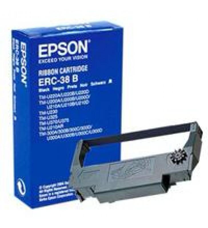 CINTA EPSON NEGRA PARA MINIPRINTERS ERC-38B TMU-200/TM-300/TM-U325/TM-U375