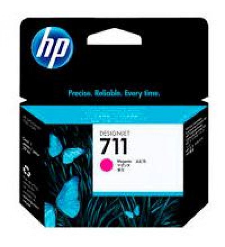 CARTUCHO DE TINTA P/PLOTTER HP 711 MAGENTA 29 ML CZ131A
