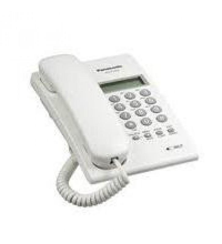 TELEFONO PANASONIC KX-T7703 BASICO ANALOGO CON IDENTIFICADOR DE LLAMADAS