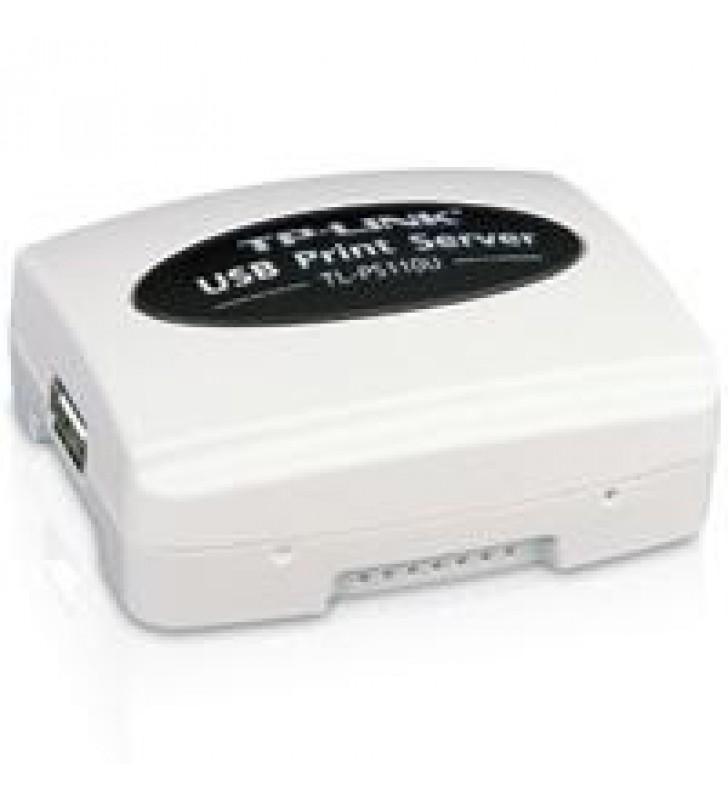 PRINT SERVER SERVIDOR DE IMPRESION TP-LINK TL-PS110U 1 RJ45 10/100 1 PUERTO USB 2.0