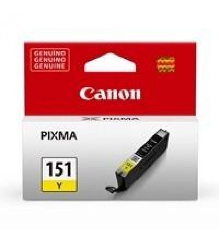 CARTUCHO CANON CLI-151Y AMARILLO PARA IX6810/ IP7210  MG5410/MG6310 MG6410 MG6610 MG7110 MG7510 MX72
