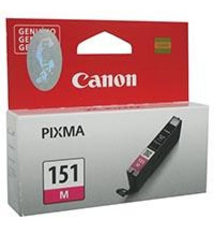 CARTUCHO CANON CLI-151 MAGENTA PARA IX6810 IP7210 IP8710 MG5410/MG6310 MG6410 MG6610 MG7110 MG7510