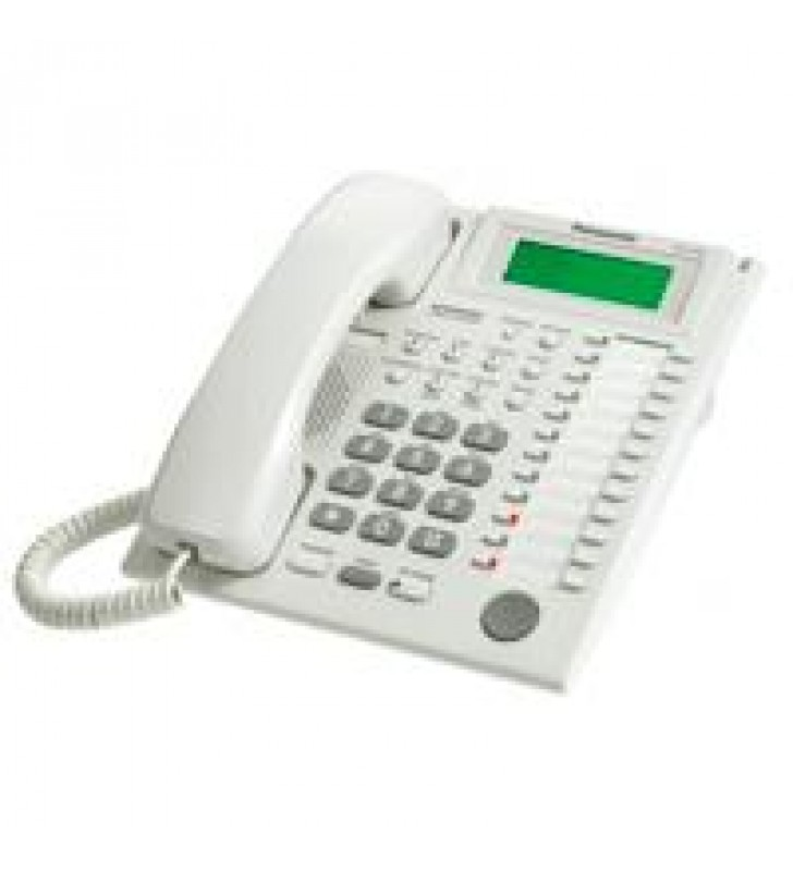 TELEFONO PANASONIC KX-T7735HIBRIDO CON PANTALLA DE 3 LINEAS 12 TECLAS DSS 12 TECLAS PF Y ALTAVOZ