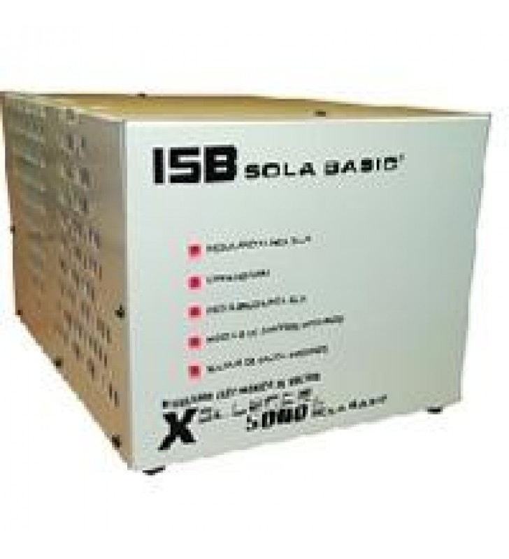 REGULADOR ELECTRONICO DE VOLTAJE SOLA BASIC ISB XELLENCE15000 3 FASES 220Y/127 VCA.