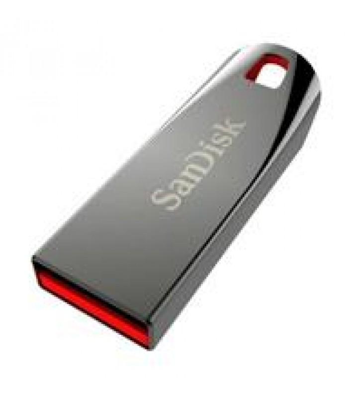 MEMORIA SANDISK 64GB USB 2.0 CRUZER FORCE Z71 CUERPO DE METAL