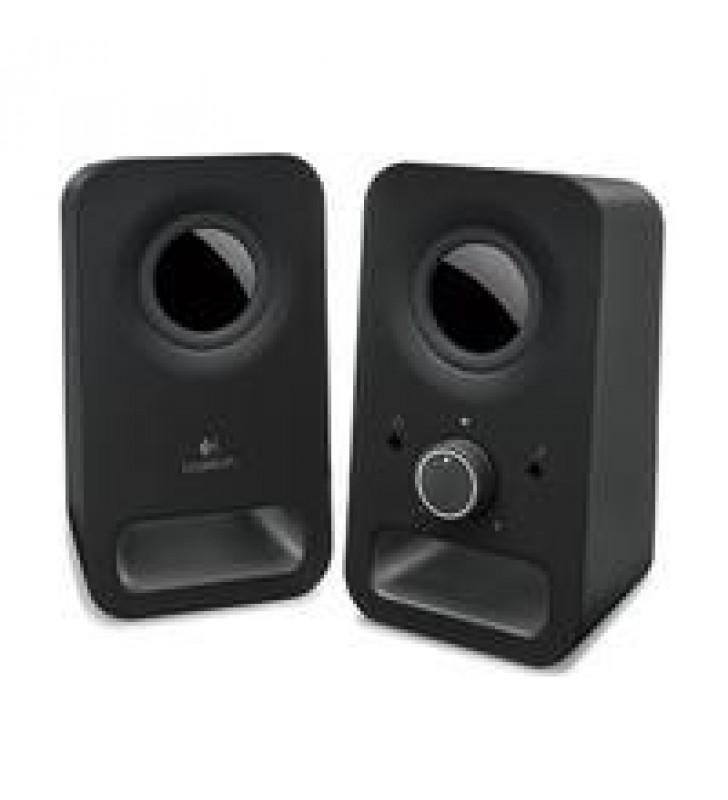 BOCINAS LOGITECH Z150 NEGRO 2.0 CONEXION 3.5 PC/MAC/MP3